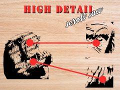 High Detail Scroll Saw Pattern