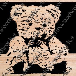 scroll saw patterns Teddy Bear